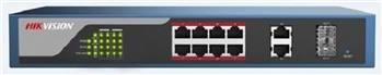 سوییچ شبکه 8 پورت هایک ویژن مدل DS-3E1310P-E