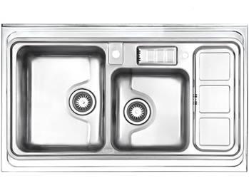 سینک فانتزی روکار استیل البرز مدل 813
