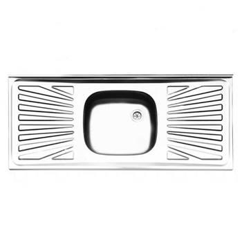 سینک معمولی روکار ایلیا استیل مدل 331