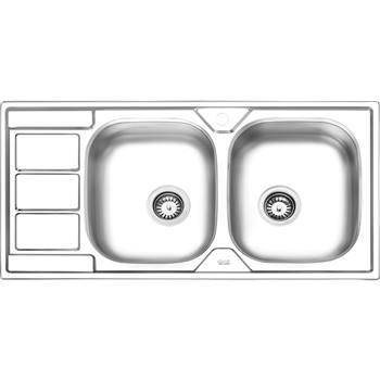 سینک نیمه فانتزی توکار ایلیا استیل مدل 4051