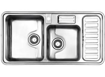 سینک فانتزی توکار استیل البرز مدل 812
