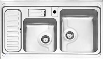 سینک فانتزی روکار استیل البرز مدل 812
