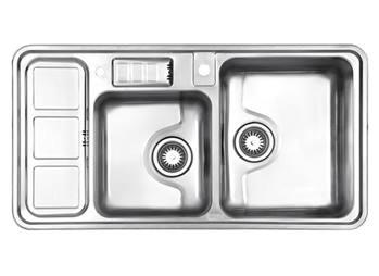 سینک فانتزی توکار استیل البرز مدل 813