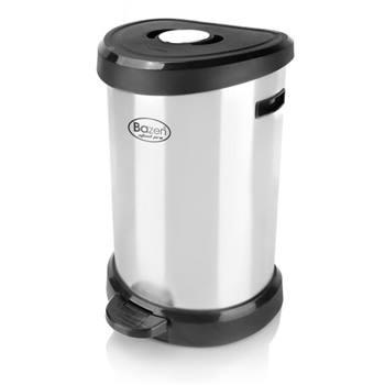 سطل پدالی 20 لیتری بازن مدل استیل پرو - 6001