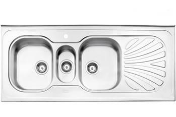 سینک مولتی روکار استیل البرز مدل 530