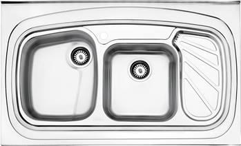 سینک پروانه روکار استیل البرز مدل 611