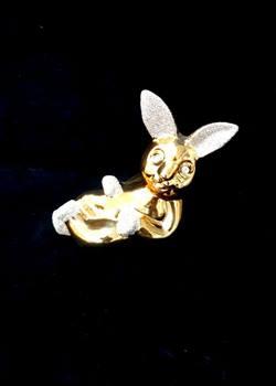 دکوری خرگوش طلائی