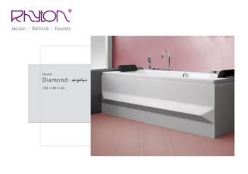 وان حمام ریتون مدل Diamond سایز 180x85
