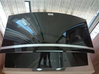 هود شومینه ای آریو مدل  لمسی خم - زه سیلور