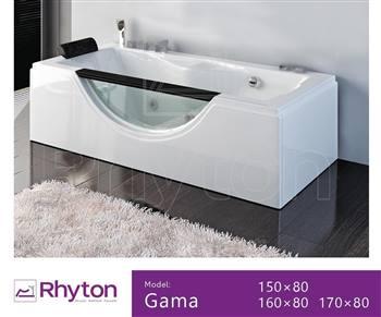 وان حمام ریتون مدل Gama سایز 150x80