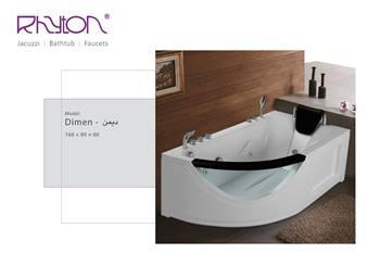 وان جکوزی ریتون مدل Dimen سایز 160x80