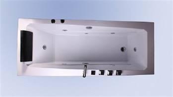 وان حمام ریتون مدل Croc سایز 170x75