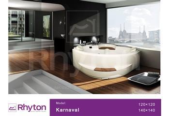 وان جکوزی ریتون مدل Karnaval سایز 120x120