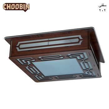 چراغ سقفی چوبی کد 4CL 202