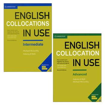 کتاب English Collocations in use اثر Felicity O Dell & Michael Mccarthy انتشارات زبان مهر 2 جلدی