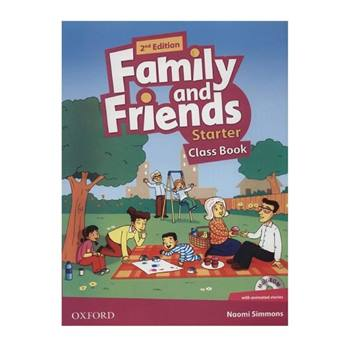کتاب Family and Friends Starter اثر Naomi Simmons انتشارات OXFORD