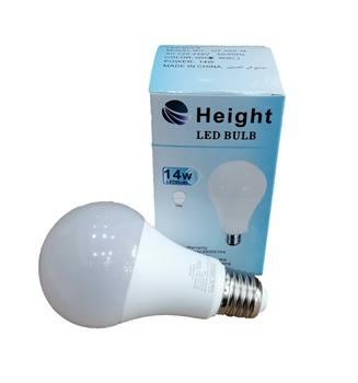 لامپ ال ای دی حبابی 14 وات هایت  Height