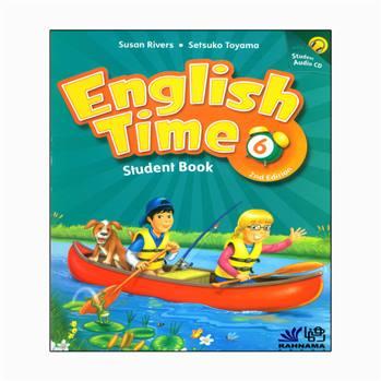 کتاب english time 6 اثر susan rivers and setsuko toyama انتشارات رهنما