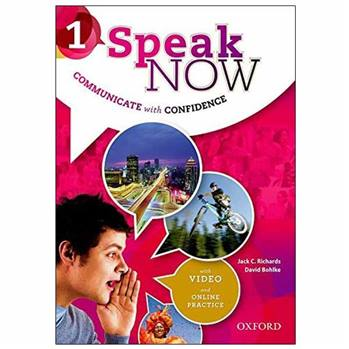 کتاب SPEAK NOW 1 اثر David Bohlke and Jack C. Richards انتشارات oxford university press