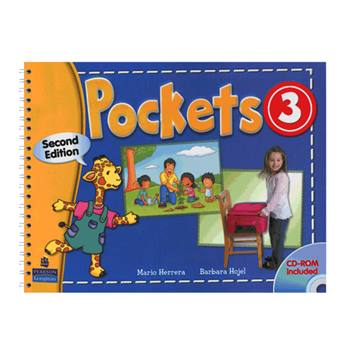 کتاب Pockets 3 اثر Mario Herrera And Barbara Hojel انتشارات Pearson