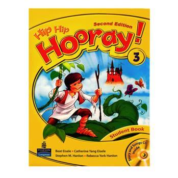 کتاب Hip Hip Hooray 3 اثر جمعی از نویسندگان انتشارات Longman