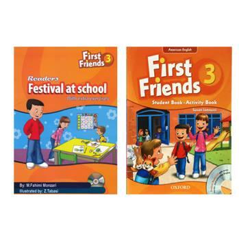 کتاب First Friends 3 اثر Susan Iannuzzi And M.Fahimi Monzari انتشارات Oxford دو جلدی