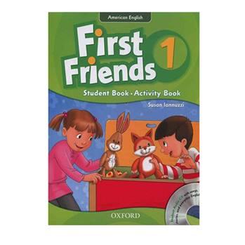 کتاب American First Friends 1 اثر Susan Lannuzzi انتشارات Oxford