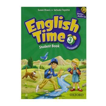 کتاب English Time 3 اثر Susan Rivers And Setsuko Toyama انتشارات Oxford