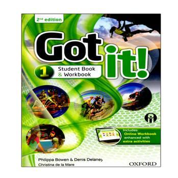 کتاب Got It 1 اثر جمعی از نویسندگان انتشارات الوندپویان
