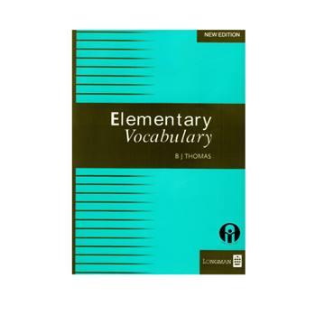 کتاب Elementary Vocabulary اثر B J Thomas انتشارات الوند پویان