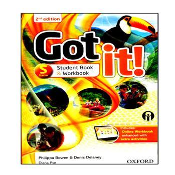 کتاب Got It Starter اثر جمعی از نویسندگان انتشارات الوندپویان