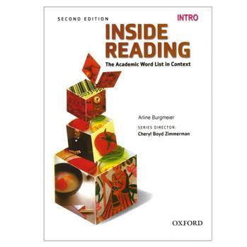 کتاب Inside Reading Intro اثر Arline Nurgmeier انتشارات oxford university press