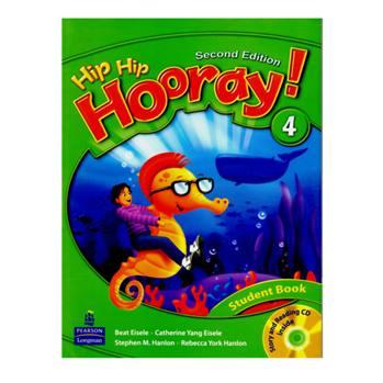 کتاب Hip Hip Hooray 4 اثر جمعی از نویسندگان انتشارات Longman