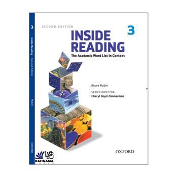 کتاب INSIDE READING 3 اثر cheryl boyd zimmerman انتشارات رهنما