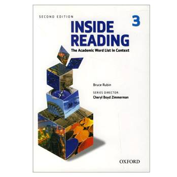 کتاب Inside Reading 3 اثر Bruce Rubin انتشارات oxford university press
