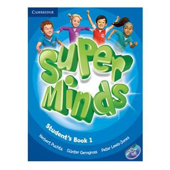 کتاب Superminds Student's Book 1 اثر جمعی از نویسندگان انتشارات Cambridge