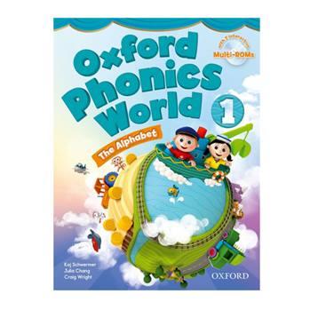 کتاب Oxford Phonics World 1 اثر جمعی از نویسندگان انتشارات Oxford