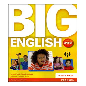کتاب Big English Starter اثر Mario Herrera And Christopher Sol Cruz انتشارات الوندپویان