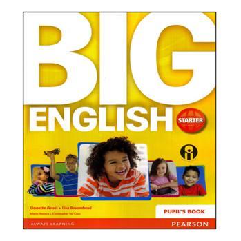 کتاب Big English Starter اثر Mario Herrera And Christopher Sol Cruz انتشارات الوندپویان