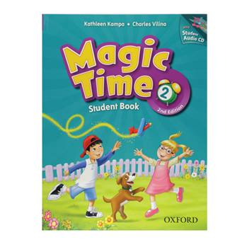 کتاب Magic Time 2 اثر Kathleen Kampa And Charles Vilina انتشارت Oxford