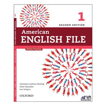 کتاب AMERICAN ENGLISH FILE 1 اثر جمعی از نویسندگان انتشارات رهنما