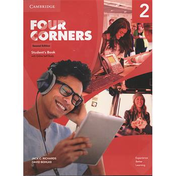 کتاب Four Corners 2 اثر JACK C.RICHARDS AND DAVID BOHLKE انتشارات اشتیاق نور