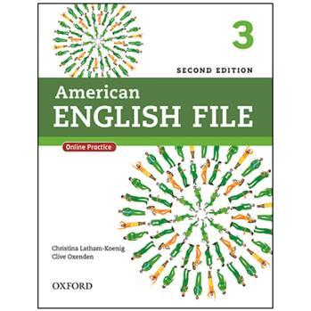 کتاب American English File 3 اثر جمعی از نویسندگان انتشارات Oxford