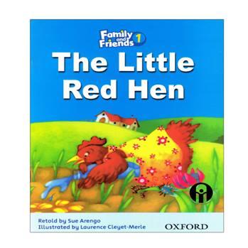کتاب The Little Red Hen اثر Sue Arengo انتشارات الوندپویان