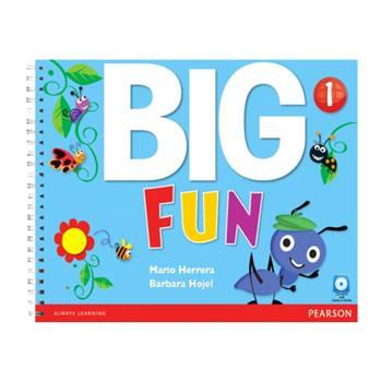کتاب Big Fun 1 اثر Mario Herrara And Barbara Hojel انتشارات Pearson
