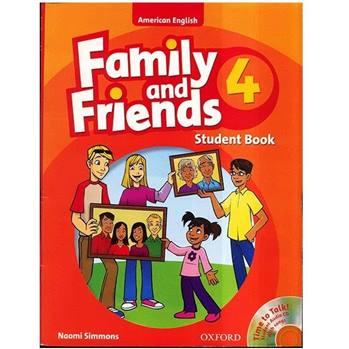 کتاب زبان Family And Friends 4 - Student Book + Workbook
