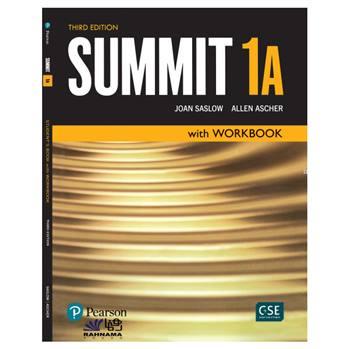 کتاب SUMMIT 1A اثر JOAN SASLOW AND ALLEN ASCHER انتشارات رهنما
