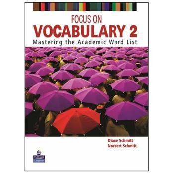 کتاب Focus on Vocabulary 2 اثر Diane Schmitt and Norbert Schmitt انتشارات Pearson