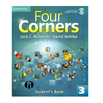 کتاب Four Corners 3 اثر Jack C. Richards.David Bohlke انتشارات الوند پویان