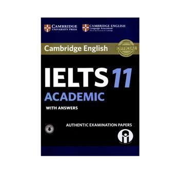 کتاب Cambridge English IELTS 11 Academicاثر جمعی از نویسندگان انتشارات الوند پویان